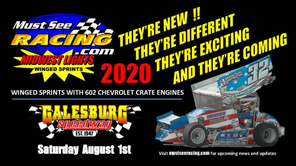 MustSeeRacing.com - Midwest Lights Winged Sprint Cars