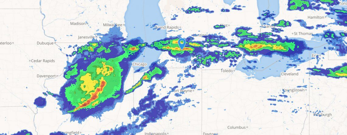 Galesburg - Weather Radar Map